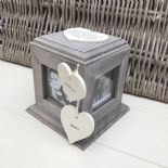Shabby Chic PERSONALISED Photo Frame Box Nanny Nana Granny Grandma Nan ANY NAMES - 332870168515